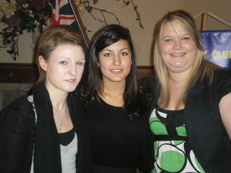 Alex, Clemence & Megan - RYPEN participants